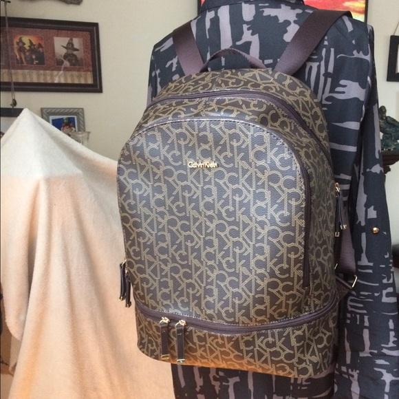 c55553a78a Calvin Klein Handbags - NWT Calvin Klein Backpack Campus School Bag